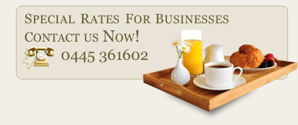 Special rates for businesses